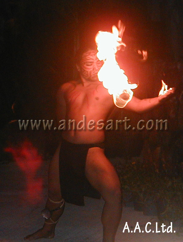 2005-Fire Dancer, Tahiti