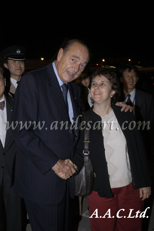 2004-French President with Beatrice